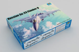 01667 Trumpeter 1/72 Russian Su-33 Flanker D