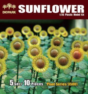DP35001 Diopark Цветы Подсолнухи (Sunflower)