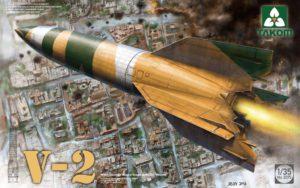 2075 Takom  German Single Stage Ballistic Missile V-2