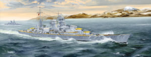 05346 Trumpeter German Heavy Cruiser Blucher