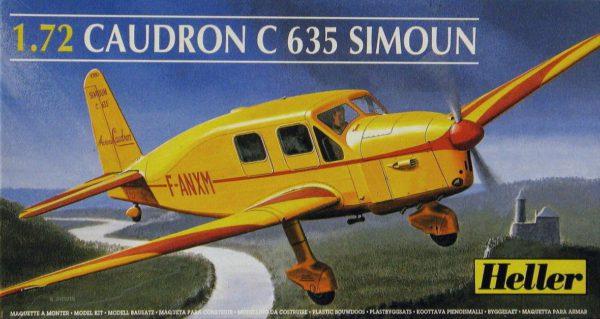 80208 Heller CAUDRON C-635 SIMOUN