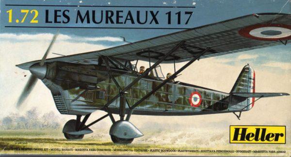 80215 Heller Самолет LES MUREAUX 117
