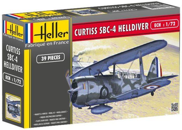 80285 Heller  Самолет Curtiss 4 Helldiver