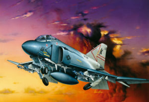Italeri 0170 Самолет  F-4S Phantom II