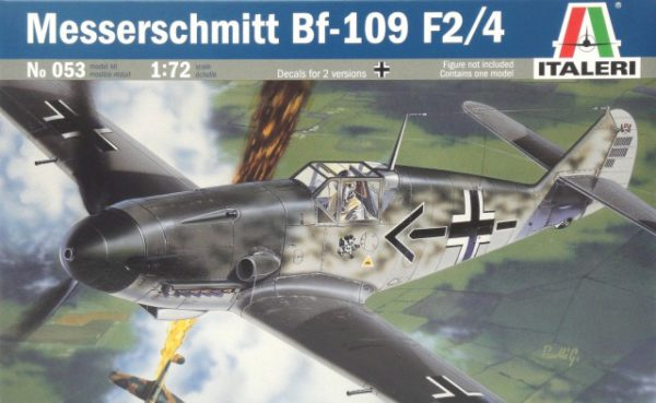 053 Italeri Messerschmitt Bf-109 F2/4