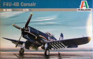 062 Italeri Самолет Corsair F-4U/4B