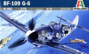 063 Italeri Messerschmitt Bf-109 G-6