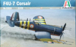 1313 Italeri Самолет F4 U-7 Corsair