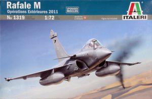 1319 Italeri Rafale M Opérations Extérieures 2011