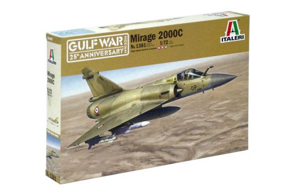 Italeri 1381 MIRAGE 2000C - GULF WAR 25th ANNIVERSARY