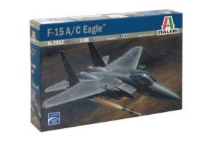 2617 Italeri Самолет F-15 C Eagle