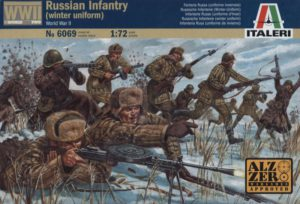 6069 Italeri  Russian Infantry: winter unif