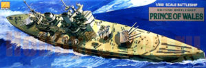 80606 MiniHobbyModels Корабль British Battleship HMS Prince of Wales WW2  1:350