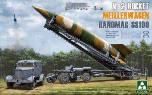 2030 Takom German V-2 Rocket Transporter/Erector Meillerwagen+Hanomag SS100