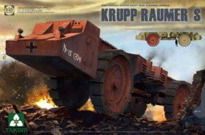 2053 Takom  German Super Heavy Mine Cleaning Vehicle Krupp Raumer S