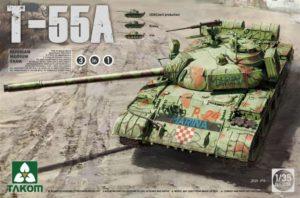 2056 Takom Танк Т-55А (3 в 1)