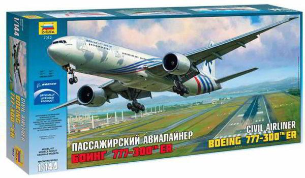 7012 Звезда  Пассажирский авиалайнер Боинг 777-300 ER