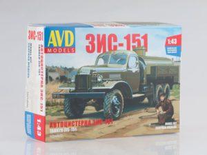 1024AVD AVD Models Топливозаправщик ТЗ-151