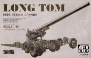 AF35009 Afvclub M59 Long Tom 155mm Cannon and Limber