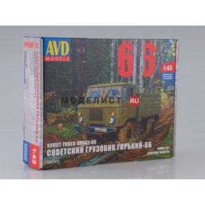 """1007KIT AVD Models Горьковский грузовик-66 """"Шишига"""""""