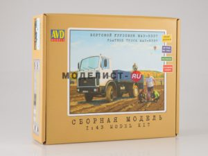 1175KIT AVD Models 1/43 МАЗ-5337 бортовой