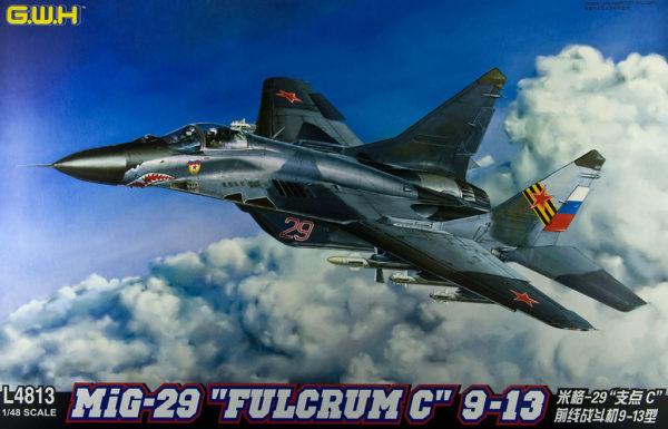 L4813 Great Wall Hobby Советский фронтовой истребитель МиГ-29 9-13 Fulcrum C