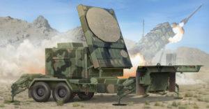01023 Trumpeter Радар MPQ-53 C-Band Tracking Radar