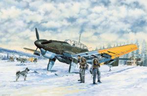 03215 Trumpeter Германский самолет Ju-87B2U4 Stuka