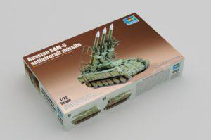 """07109 Trumpeter Советский зенитно-ракетный комплекс """"Куб"""" (SAM-6)"""
