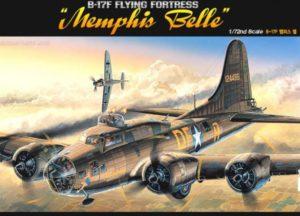 "Academy 12495 B-17F Flying Fortess ""Memphis Belle"""