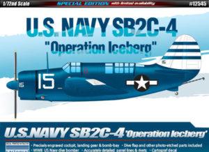 "12545 Academy  Cамолет U.S.Navy SB2C-4 ""Operation Iceberg"""