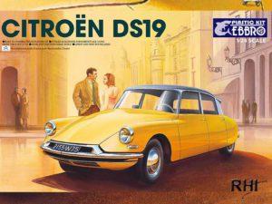 25005 Ebbro 1/24 Citroen DS19