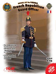 16004 Фигура, Офицер Республиканской гвардии Франции ICM