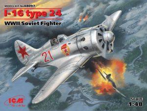 48097 ICM И-16 тип 24, Советский истребитель ІІ МВ