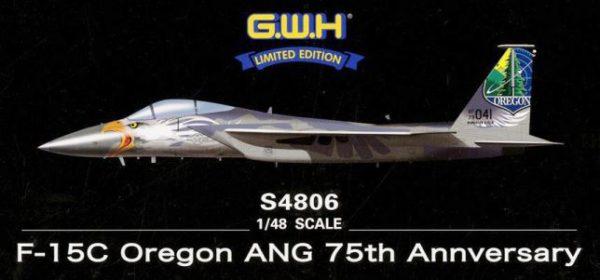 S4806 Great Wall  Истребитель USAF F-15C Oregon ANG 75th Annversary