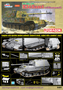 6465 Dragon 1/35 Sd.Kfz.184 Elefant w/Zimmerit