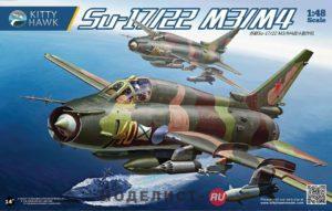 KH80144 Kitty Hawk Самолёт Su-17/22 M3/M4