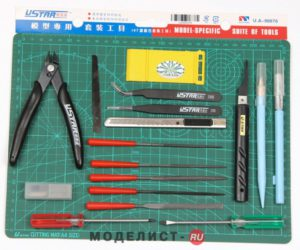 UA90076 UStar Набор инструментов на блистере