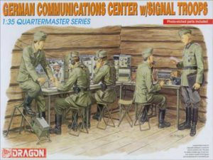 3826 Dragon Немецкие солдаты German communications center