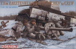 6097 Dragon 8.8 cm Raketenwerfer 43 'Puppchen' w/crew