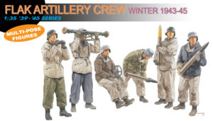 6275 Dragon 1/35 Flak Artillery Crew Winter 1943-45