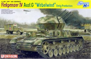 "6342 Dragon 1/35 Sd.Kfz.161/4 2cm Flakpanzer IV Ausf.G ""Wirbelwind"" Early Production"