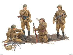 6376 Dragon 1/35 Soviet Guards Infantry 1944-45