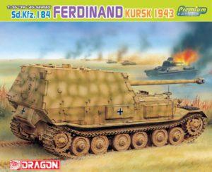 6495 Dragon 1/35 Sd.Kfz. 184 Ferdinand, Kursk 1943