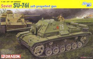 6838 Dragon 1/35 Самоходка SU-76i