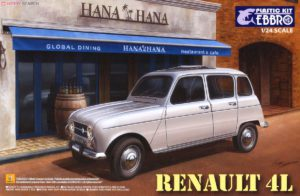 25002 Ebbro 1/24 Renault 4L