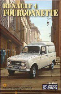 25003 Ebbro 1/24 Renault 4 Fourgonnette