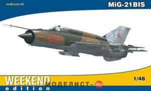 84131 Eduard Самолет MiG-21BIS
