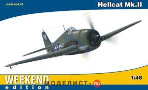 134 Eduard 1/48 Самолет Hellcat Mk. II