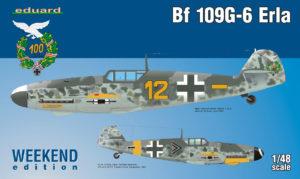 84142 Eduard Bf 109G-6 Erla